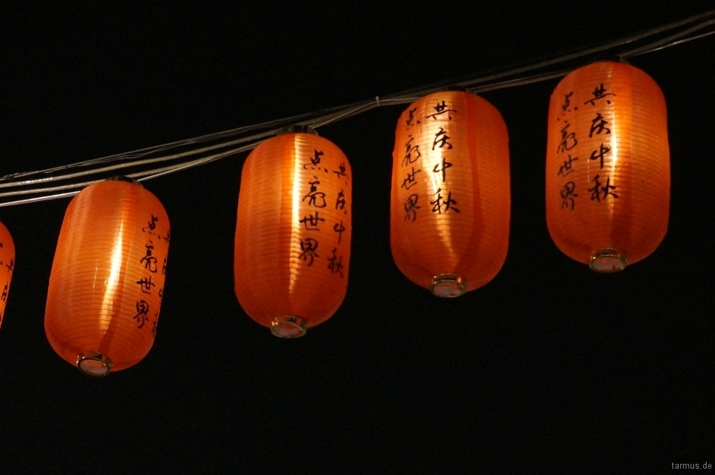 Lanterns in China Town