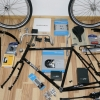 Bicycle components for the Surly LHT assembly