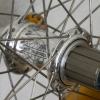 Spoked rear wheel with the White Industries Mi5 Rear Hub