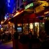 Boulevard du Montparnasse at night