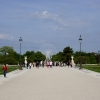 The Tuileries Garden near Louvre Museum