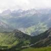 View from Schönberg towards Malbun