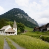 Idyllic mountain chapel, Steg