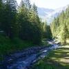 Hiking along the Valünerbach in Liechtenstein 05