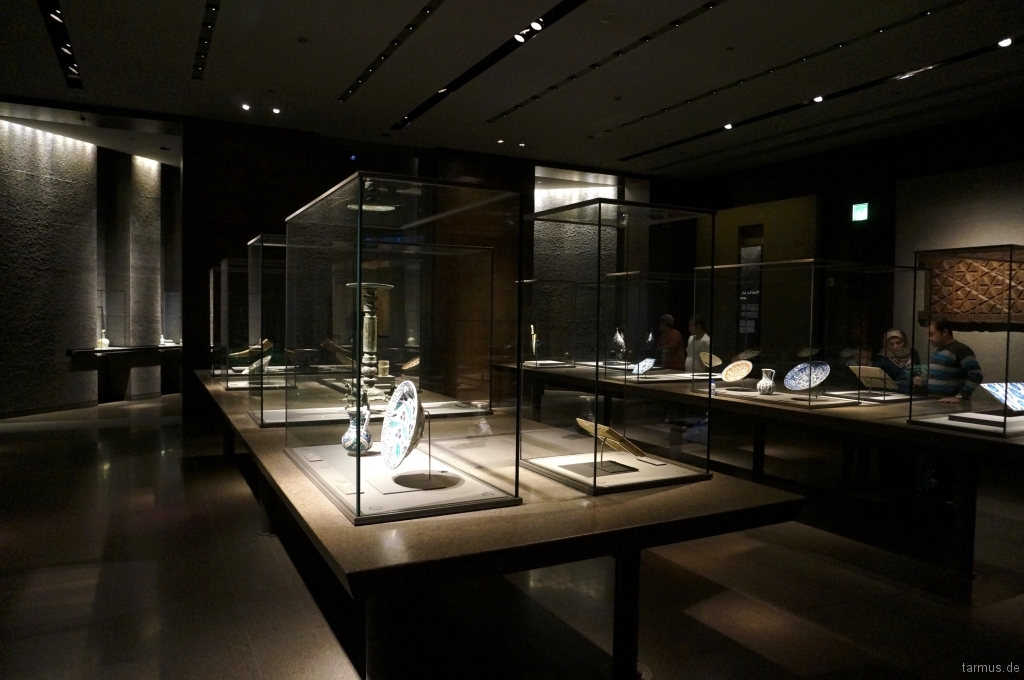 Exhibition in the Museum of Islamic Art in Doha, Qatar