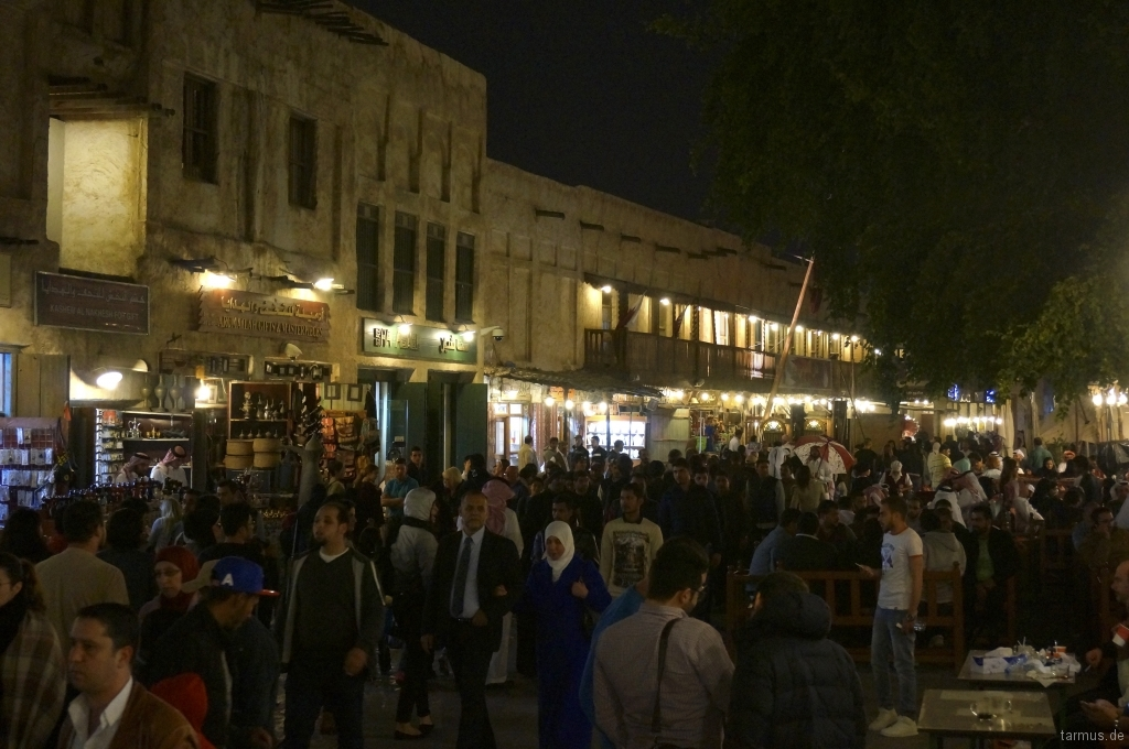 Souq Waqif by night