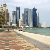 The Corniche in Doha, Qatar