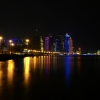 Doha Skyline by night, Qatar