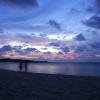 Evening on Bodufolhudhoo, Maldives